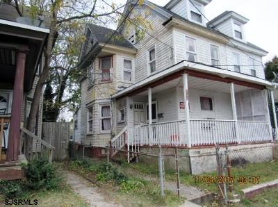 Millville Single Family Home For Sale: 803 Archer Street