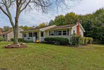 Millville Single Family Home For Sale: 9 Carol Dr