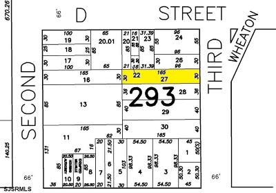 Millville Residential Lots & Land For Sale: 622 N 3rd St