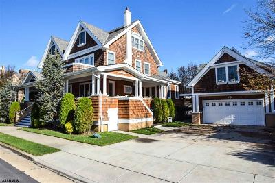 Ventnor Single Family Home For Sale: 101 S Harvard Ave