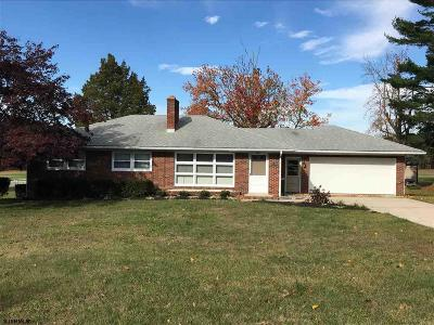 Vineland Single Family Home For Sale: 1380 W Wheat Road