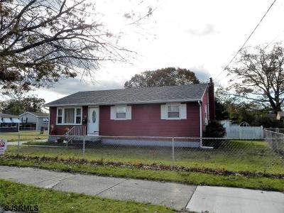 Millville Single Family Home For Sale: 705 D Street