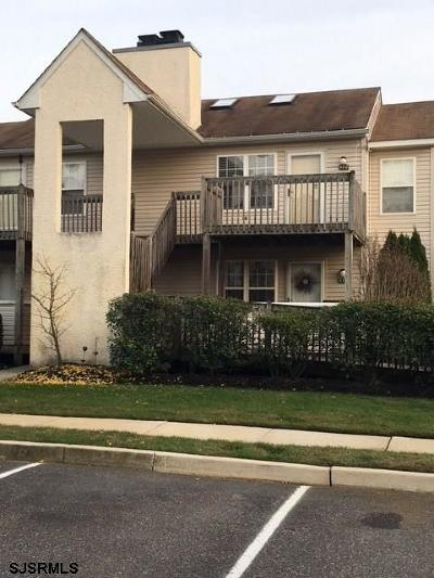 Egg Harbor Township, Northfield Condo/Townhouse For Sale: 480 London Court 2 #480