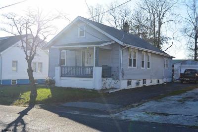 Vineland Single Family Home For Sale: 319 Fenimore Street
