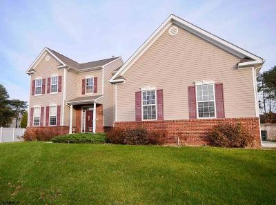Millville Single Family Home For Sale: 19 Marc Dr