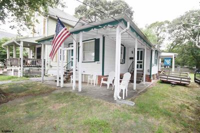 Somers Point Single Family Home For Sale: 15 W Maryland Ave Ave