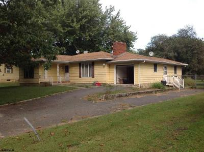 Vineland Single Family Home For Sale: 665 N Brewster Rd