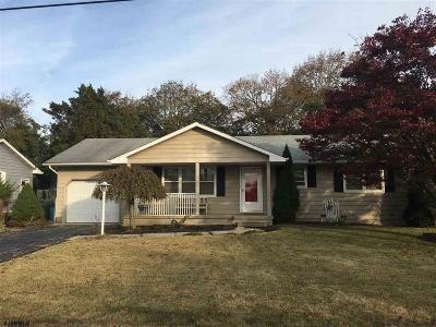 Vineland Single Family Home For Sale: 1347 Oak Ln