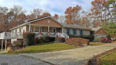 Vineland Single Family Home For Sale: 3424 Panther Rd Road