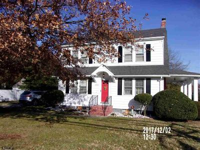 Vineland Single Family Home For Sale: 1086 E Chestnut Ave