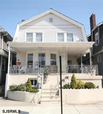 Ventnor Single Family Home For Sale: 9 N Surrey Ave