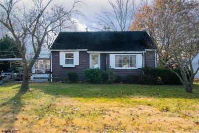 Vineland Single Family Home For Sale: 1647 Woodlawn Ave Ave