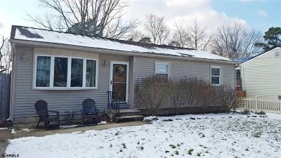 Millville Single Family Home For Sale: 1112 Louis Drive