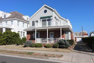 Atlantic City, Longport, Longport Borough, Margate, Ventnor, Ventnor Heights Rental For Rent: 107 S Dudley Ave