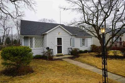 Millville Single Family Home For Sale: 206 N 11th Street