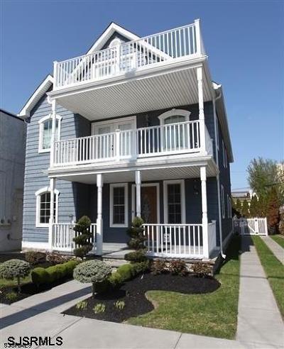 Atlantic City, Longport, Longport Borough, Margate, Ventnor, Ventnor Heights Rental For Rent: 5 S Fredericksburg Ave