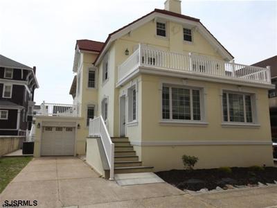 Atlantic City, Longport, Longport Borough, Margate, Ventnor, Ventnor Heights Rental For Rent: 104 S Oakland Ave