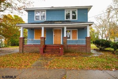 Vineland Single Family Home For Sale: 512 S West Blvd