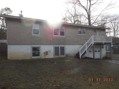 Millville Single Family Home For Sale: 5321 Doris Dr