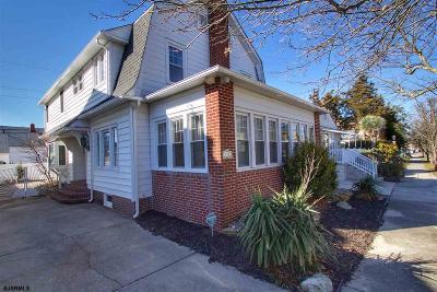 Atlantic City, Longport, Longport Borough, Margate, Ventnor, Ventnor Heights Rental For Rent: 110 N Osborne Ave