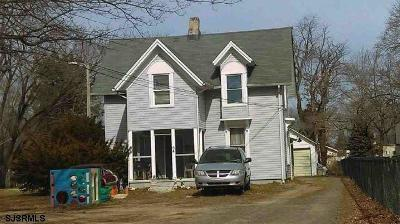 Vineland Single Family Home For Sale: 54 Bortle Ave