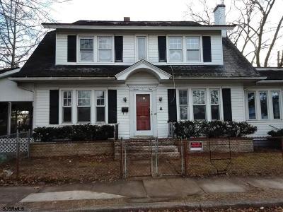 Millville Single Family Home For Sale: 701 Sassafras Street