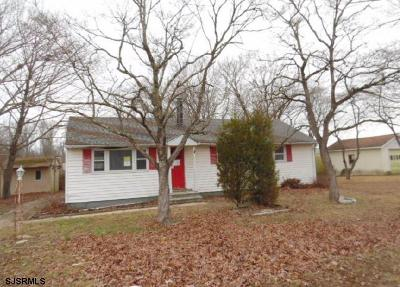 Vineland Single Family Home For Sale: 2864 S Union Road