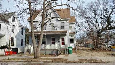 Millville Multi Family Home For Sale: 209-211 N 6th Street