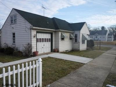 Millville Single Family Home For Sale: 3 S 10th Street
