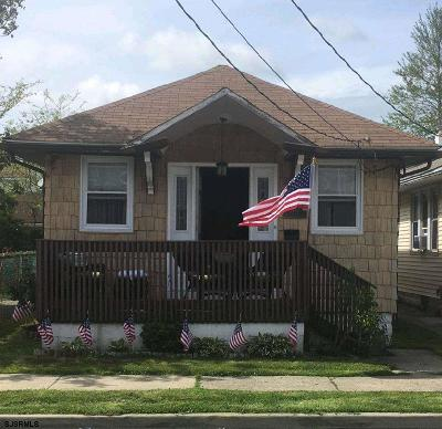 Ventnor Single Family Home For Sale: 5707 Monmouth Ave