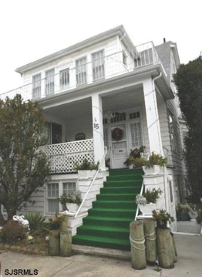 Ventnor Single Family Home For Sale: 15 S Richards Ave