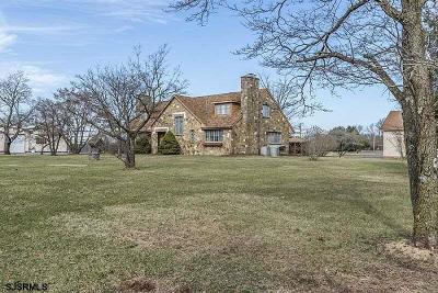 Vineland Single Family Home For Sale: 416 Wheat Road