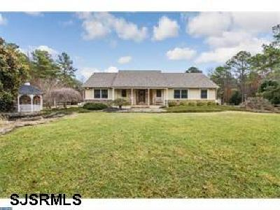 Franklinville Single Family Home For Sale: 2646 Tuckahoe Road