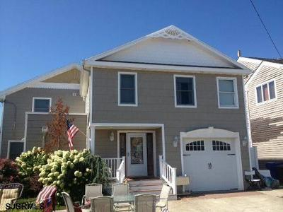 Atlantic City, Longport, Longport Borough, Margate, Ventnor, Ventnor Heights Rental For Rent: 3307 Amherst Ave
