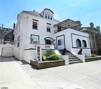 Atlantic City, Longport, Longport Borough, Margate, Ventnor, Ventnor Heights Rental For Rent: 109 S Austin Ave