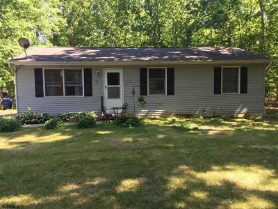 Newfield NJ Single Family Home For Sale: $124,900