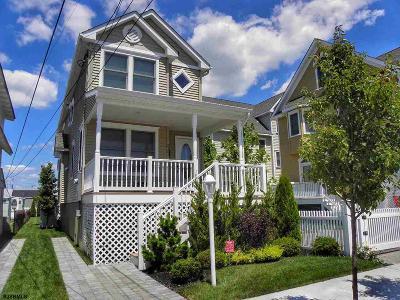 Atlantic City, Longport, Longport Borough, Margate, Ventnor, Ventnor Heights Rental For Rent: 9307 Monmouth Ave