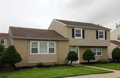 Atlantic City, Longport, Longport Borough, Margate, Ventnor, Ventnor Heights Rental For Rent: 610 N Delavan