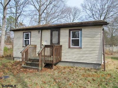 Millville Single Family Home For Sale: 320 Fern Road