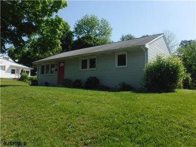 Bridgeton NJ Single Family Home For Sale: $97,200