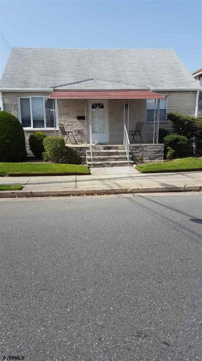 Atlantic City, Longport, Longport Borough, Margate, Ventnor, Ventnor Heights Rental For Rent: 7305 Monmouth Ave