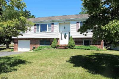 Vineland Single Family Home For Sale: 969 Chapel Drive