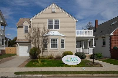 Atlantic City, Longport, Longport Borough, Margate, Ventnor, Ventnor Heights Rental For Rent: 7 S Sumner Ave