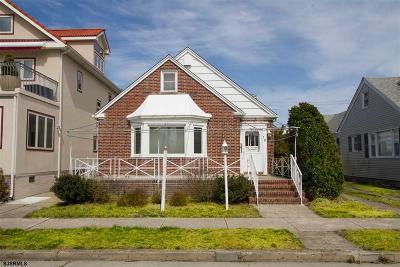 Atlantic City, Longport, Longport Borough, Margate, Ventnor, Ventnor Heights Rental For Rent: 19 N Mansfield Ave