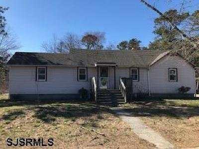 Vineland Single Family Home For Sale: 4246 Stanley Terrace
