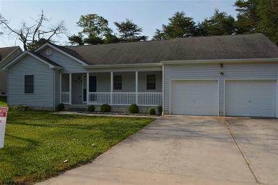 Millville Single Family Home For Sale: 1511 A Fairton