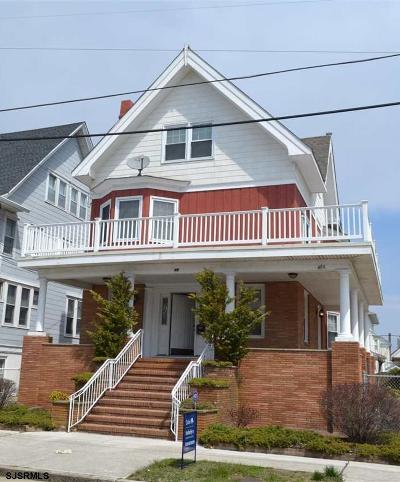 Atlantic City Single Family Home For Sale: 49 S Delancy Pl
