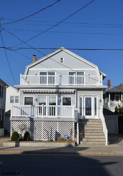 Atlantic City, Longport, Longport Borough, Margate, Ventnor, Ventnor Heights Rental For Rent: 11 S Wyoming Ave