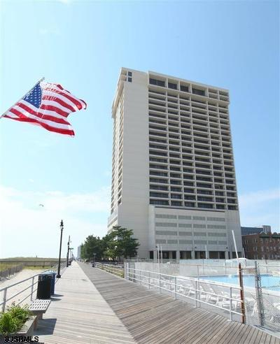 Atlantic City Condo/Townhouse For Sale: 3851 Boardwalk #PH 105