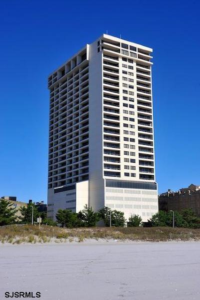 Atlantic City Condo/Townhouse For Sale: 3851 Boardwalk #PH 107